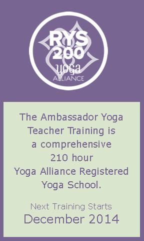 Ambassador Yoga Teacher Training for Teens is a Yoga Alliance Registered Children's Yoga School
