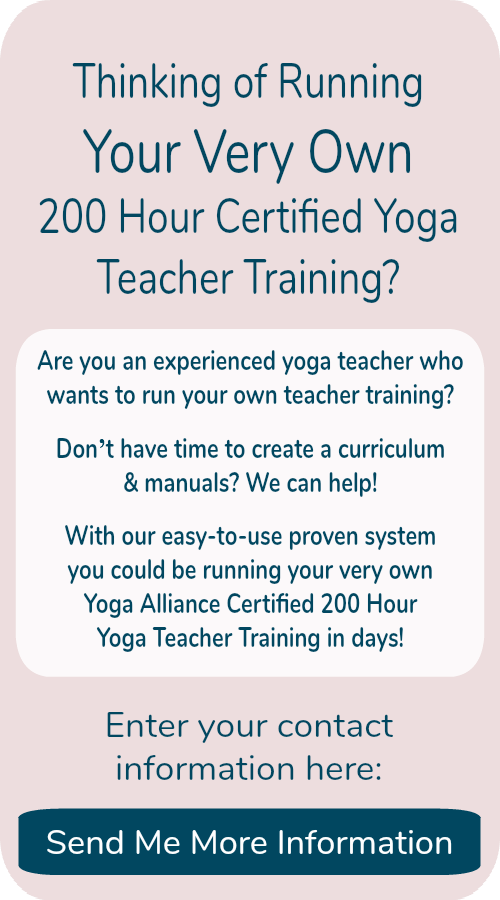 Lead Your Own Yoga Teacher Training Ambassador Yoga